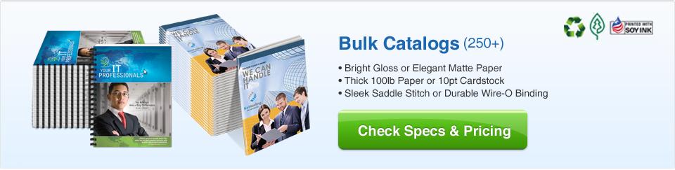 Bulk Catalogs